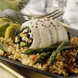 Spinach Stuffed Sole – TypeFree Diabetes