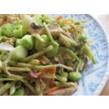 Vegetarian Stir Fry with Edamame – TypeFree Diabetes